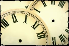Zeit, Auszeit und diverse Zeitfenster. Keep informed!